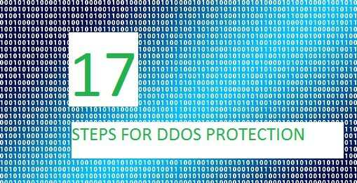 17 Steps : DDOS protection